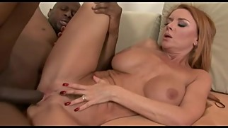 Hot and Sexy Milf Janet Mason enjoys Fuck with a Huge Black Cock
