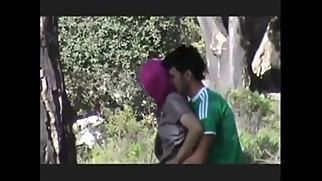 Prova and Her Boyfriend Hard Sex Outdoor