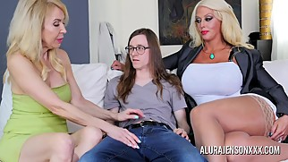 Erica Lauren and Alura Jenson Make a House Call